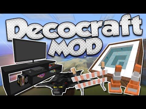 🚨MODS #36🚨 | 1.11.2 | DECOCRAFT MOD | KARMALAND 3 MODS | ¡DECORACIÓN EXTREMA!
