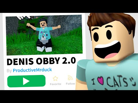 I Found Another DENIS GAME in Roblox!