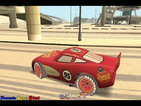 SAMP RSS Mod Lightning McQueen and Mater+download link