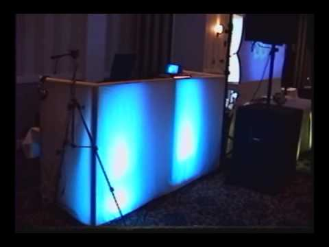 Music Video Wedding With DJ Skirts/Glo Skirts Mobile Pro Booth & American DJ Mega Bars Video