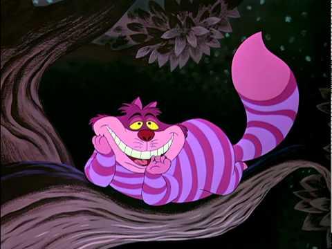 Alice aux pays des merveilles extrait le chat du cheshire youtube - Tatouage chat alice au pays des merveilles ...