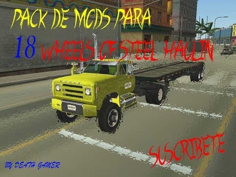 pack de mods para 18 wheels of steel haulin  (camiones,buses,tractomulas,trailers) mas link