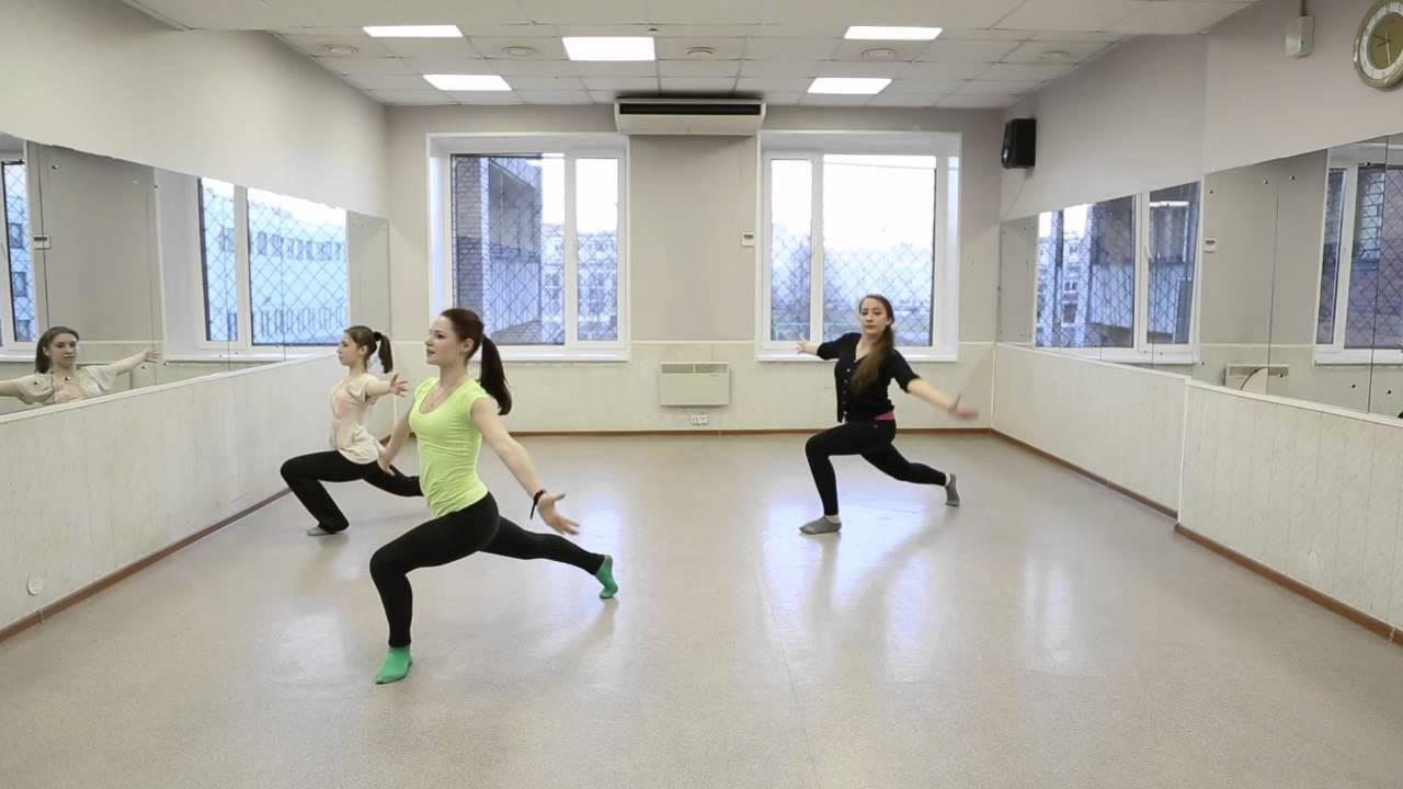 Контемпорари (Contemporary dance) для начинающих (видеоурок) от студии Дива. Педагог Ольга Завиялова.