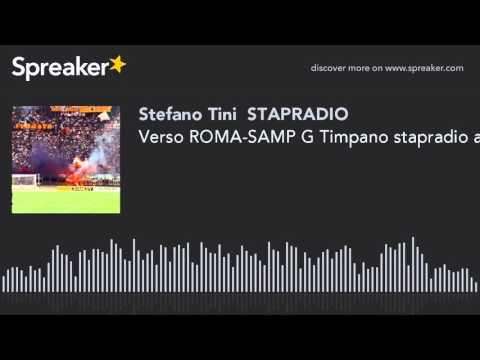 Verso ROMA-SAMP G Timpano stapradio audio sport news