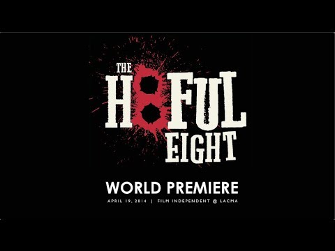 Quentin Tarantino's THE HATEFUL EIGHT - EXCLUSIVE VIDEO