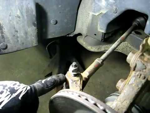 Outer Tie Rod End Replacement