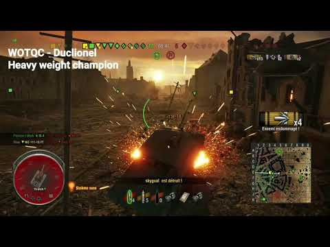 WOTQC - Duclionel - World of Tanks xbox - Heavy weight wrestling