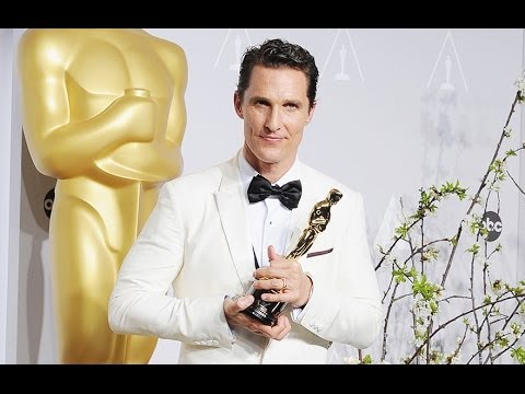 Matthew McConaughey Best Actor - Oscars 2014 Press Interview