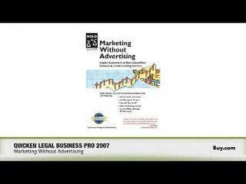 BuyTV Product Feature - Quicken Legal Business Pro 2007