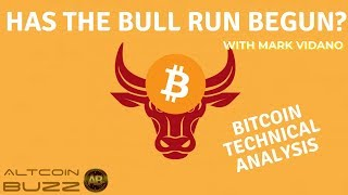 Has the BULL RUN Begun? BITCOIN Technical Trading Analysis