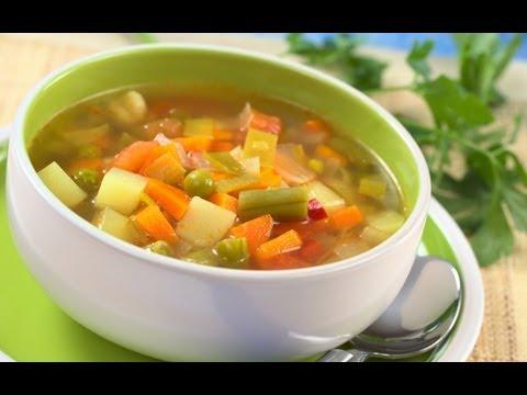 Como hacer la Dieta de la Sopa Milagrosa