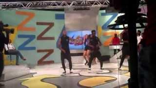 Tatiana Durao Crazy performance at Zimbando.