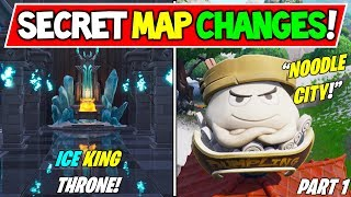 "ALL *NEW* FORTNITE SECRET MAP CHANGES v7.10! - ""TOMATO TOWN RETURNS"" (Season 7 Storyline) - Part 1"