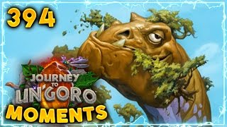 Pretty Creative Lethal..!! | Hearthstone Un'Goro Daily Moments Ep. 394 (Funny and Lucky Moments)