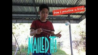 How I practice a trick!!! Ep. 1