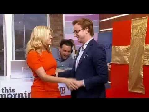 Holly's special surprise: Francis Boulle from Made In Chelsea - This Morning 30th April 2013