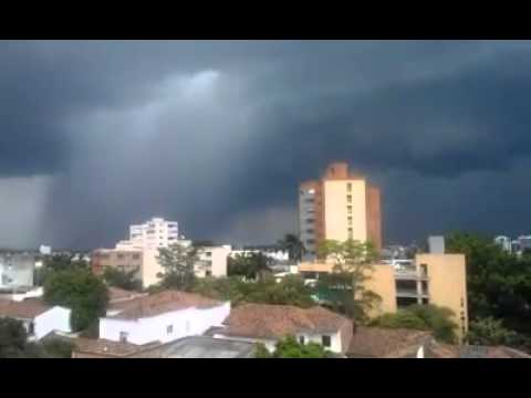 Afternoon storm, Cali, Colombia