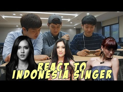 KOREAN GUYS REACT TO INDONESIAN SINGERS's MV (RAISA, ISYANA, AGNEZ MO) | ID subtitle