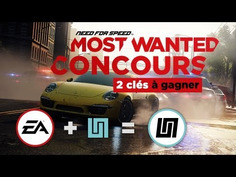 [ CONCOURS ] Need For Speed - Most Wanted - Du gameplay + 2 clés cd à gagner !