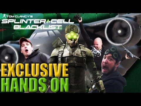 Hands on with Splinter Cell: Blacklist Limited Edition Paladin RC Plane