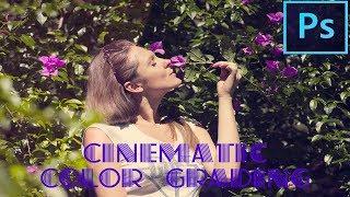 Photoshop Tutorial | Cinematic Color Grading