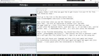 download lagu How To Install Crysis 3 For Free Pc gratis