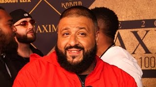 EXCLUSIVE: DJ Khaled Dishes on Recording