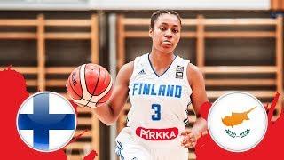 Финляндия до 18 (Ж) : Кипр до 18 (Ж)