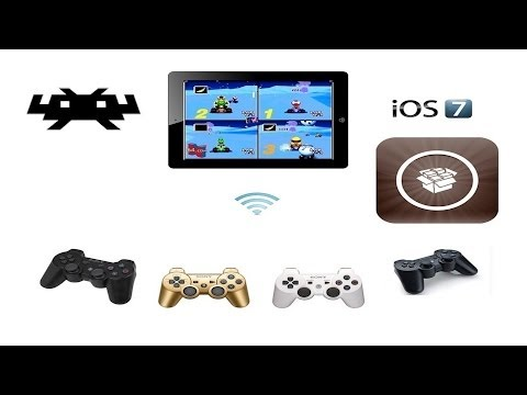Retroarch iOS 7 - 4 players using PS3 controllers