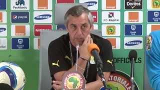 Can 2015 | Conference de presse Alain Giresse - Afrique du Sud - Senegal