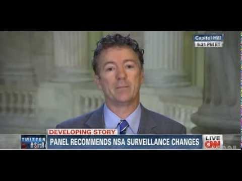 • Rand Paul • Clapper more Damaging than Snowden • 12/19/13 •
