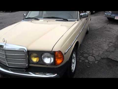 1982 Mercedes-Benz 300D Turbo Diesel W123