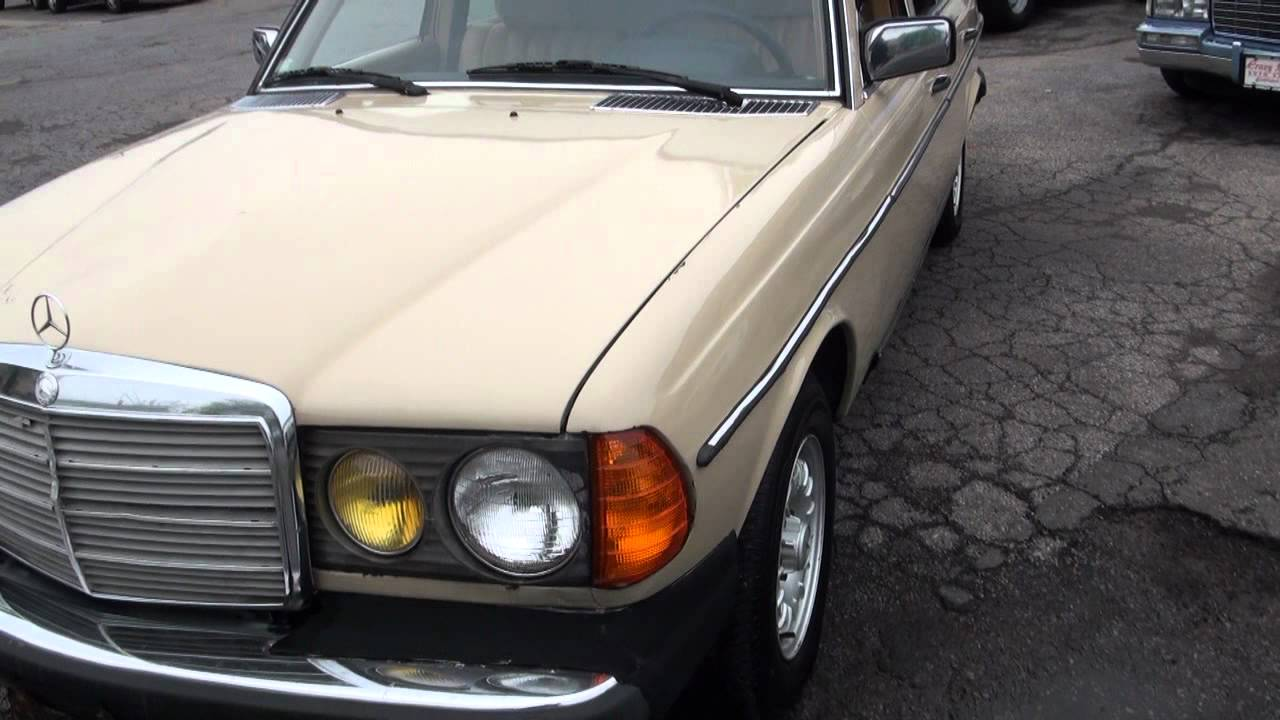 1982 Mercedes Benz 300d Turbo Diesel W123 Youtube