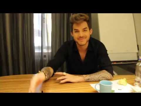 Adam Lambert sending greetings to all the fans in Finland - Radio Nova
