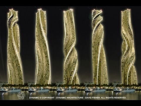 Dubai Dynamic Towers (AMAZING)