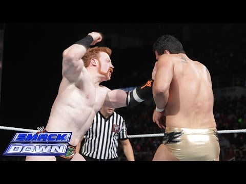 Sheamus Vs. Alberto Del Rio: Smackdown, March 7, 2014 video