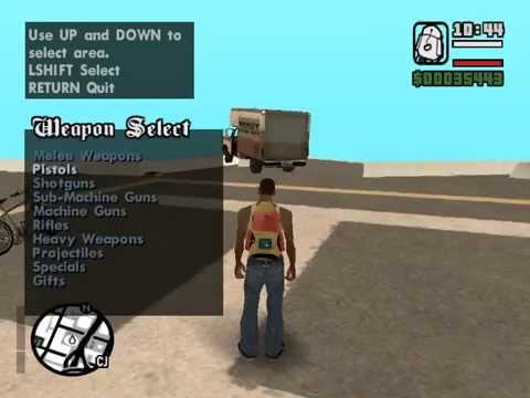 Grand Theft Auto Control Menu. (n00bmode)