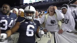 Watch Penn State fans storm the field after upset win over Ohio State