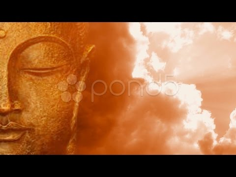 Buddha Buddhist Meditate Zen Culture Buddhism Temple Worship Yoga God Asia. Stock Footage