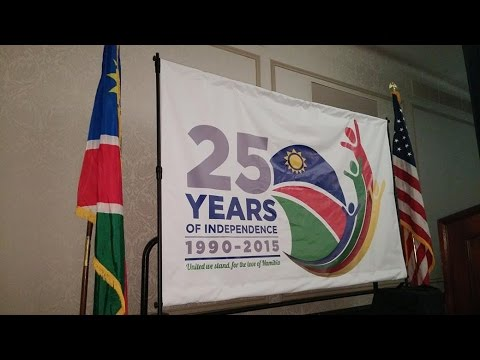 Namibia's 25th Independence Celebrations in the USA