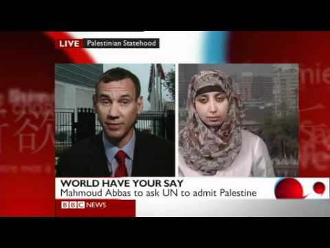BBC World Have Your Say TV: Palestine at the UN