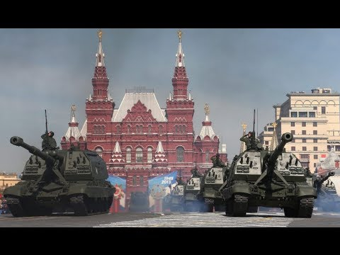 Russia's displays military muscle at Victory parade