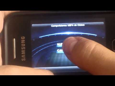 Samsung Galaxy Y GT-S5360 Play Pes2012 Pro Evolution Soccer