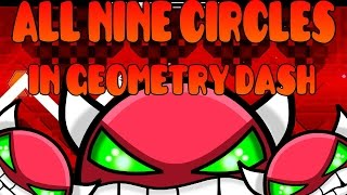 All Nine Circles in Geometry Dash 1.9 (update)