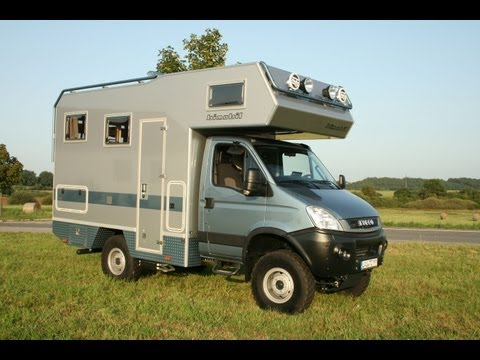 4x4 bimobil EX 358 overland campervan Iveco
