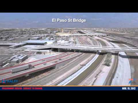 Loop 375 Border Highway West Extension Project - 3D Animation