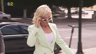 WATCH Katy Perry Arrive in Style to Court for Copyright Infringement Lawsuit