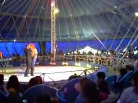 Circo payaso zapatilla