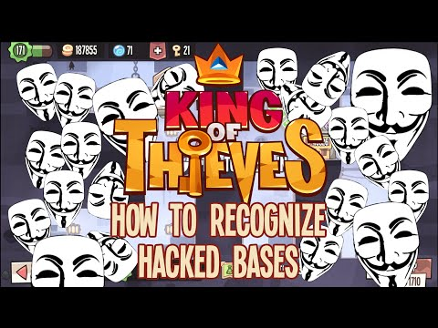 King of Thieves: How to Recognize Hacked Bases