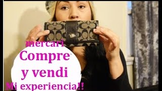 App Mercari  compre y vendi mi experiencia!! app buy and sale